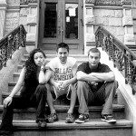 Nina Vega & Jason B. with Booty T.  2002